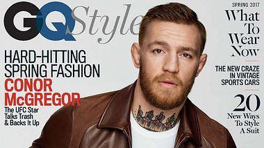 Conor McGregor: Erster MMA-Kämpfer auf dem Titel der GQ Style