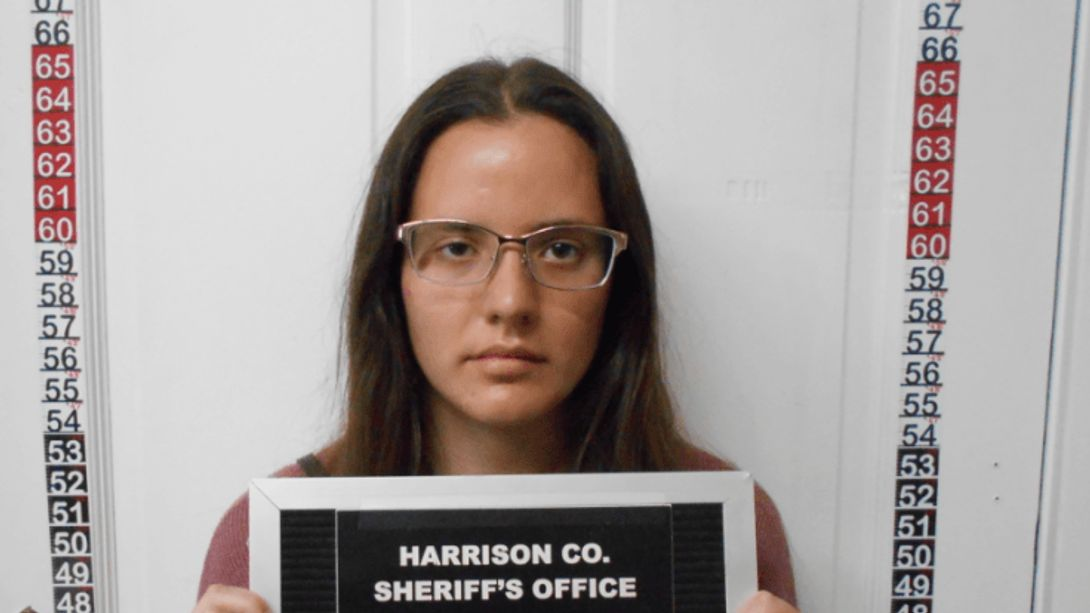 Corissa A. McCalister - Foto: Twitter / Harrison Co Sheriffs Office