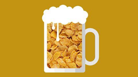Endlich! Jetzt kann man(n) Bier aus Cornflakes trinken