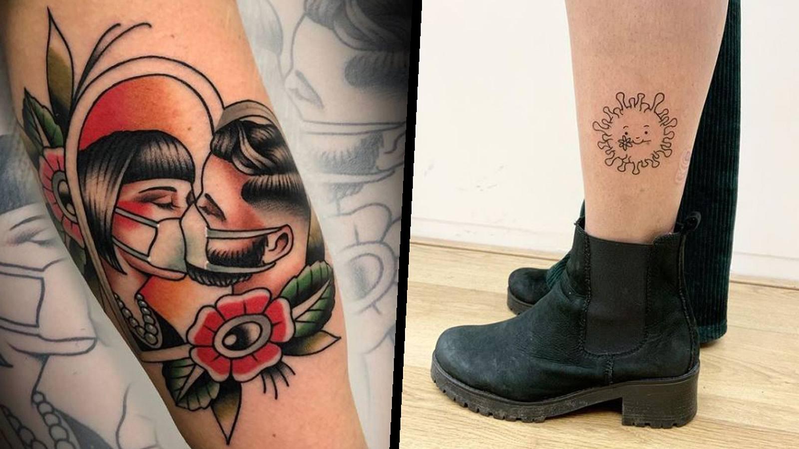 Corona: Irrer Covid-Tattootrend geht um die Welt