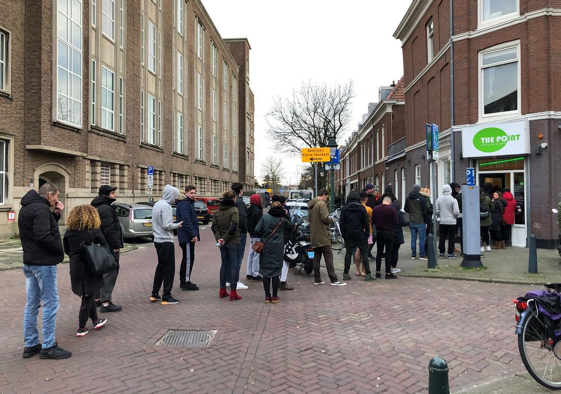 Coffeeshop in Den Haag