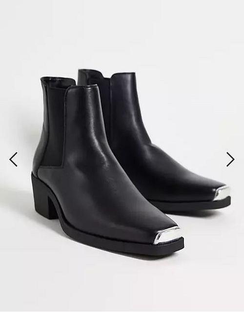 Chelsea Stiefel im Western-Stil