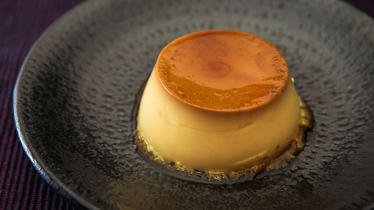 Rezept für Crème Caramel mit feinem Fleur de Sel
