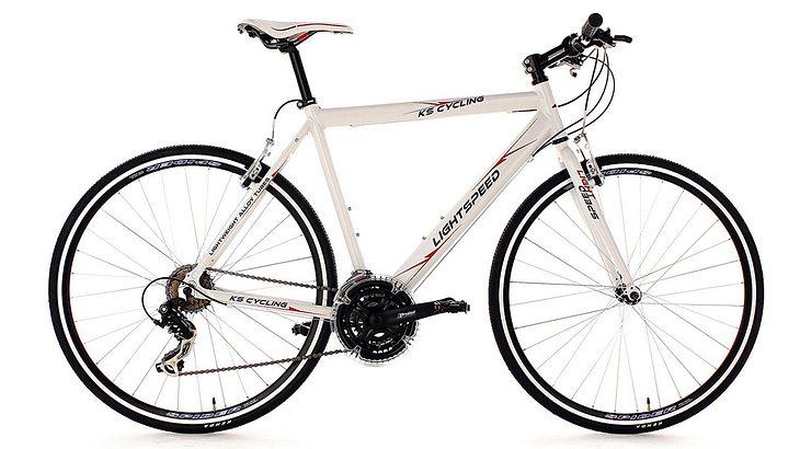 KS Cycling Unisex Fitnessbike Alu Lightspeed Rh 60 cm Fahrrad
