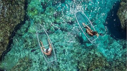 Crystal Kayaks: Diese Kanus sind komplett durchsichtig