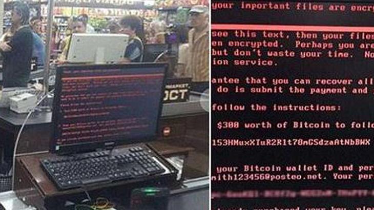 Cyber-Attacke: Hacker haben ein Windows-Sicherheitslücke ausgenutzt und fordern Bitcoins als Lösegeld