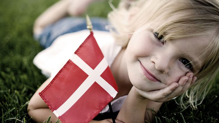 Dänische Kinder sind einfach glücklicher.