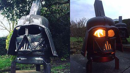 Es gibt einen Darth-Vader-Grill - Foto: Burned by Design