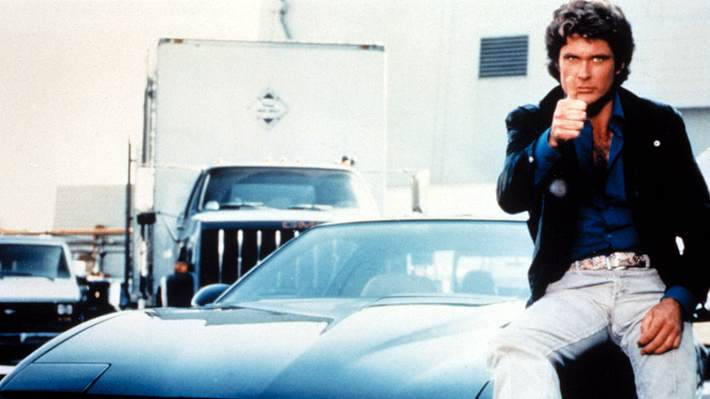 David Hasselhoff als Michael Knight - Foto: imago images / Everett Collection