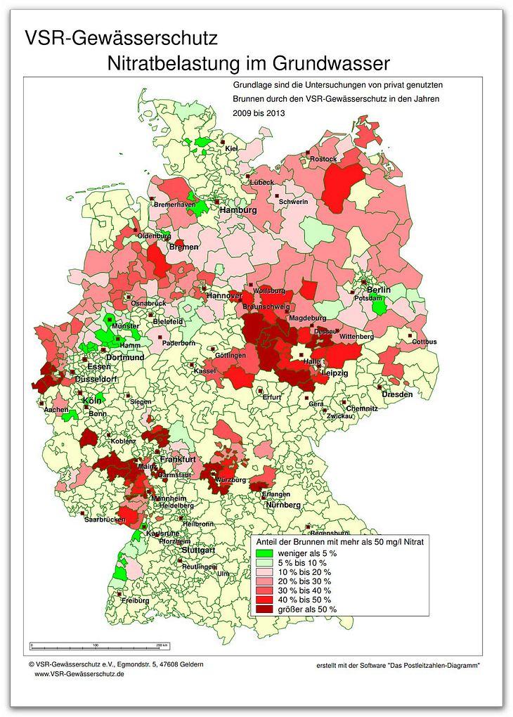 Krebsgefahr durch Trinkwasser in Deutschland