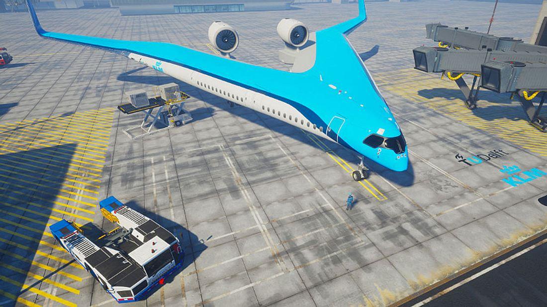 Das Flying-V wird im niederländischen Delft entwickelt.