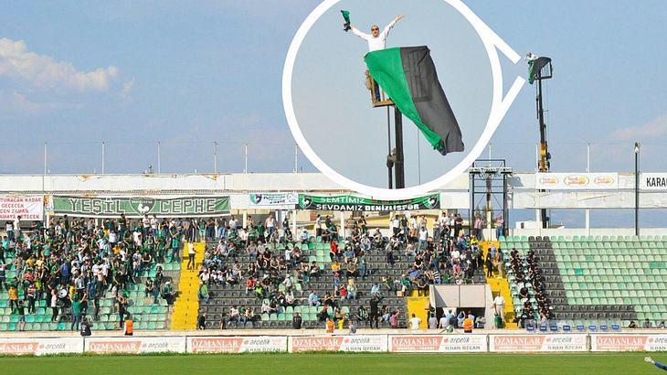 Dieser Denizlispor-Fan gibt alles