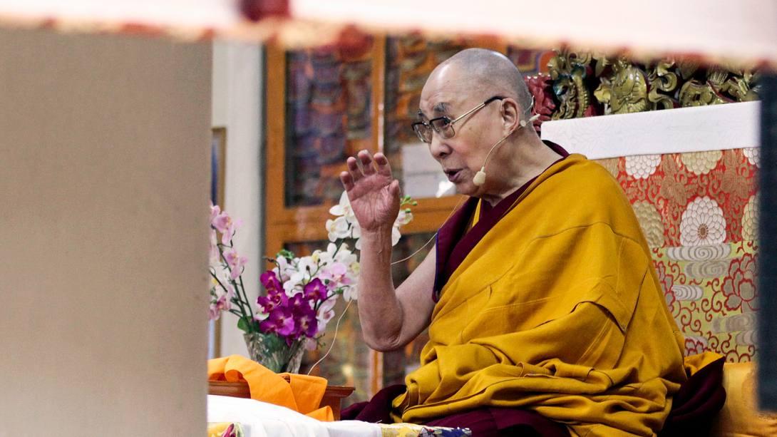 Der Dalai Lama - Foto: Getty Images /  SHAILESH BHATNAGAR
