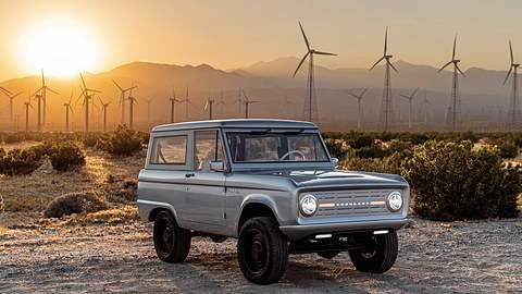 Der neue, rein elektrische Ford Bronco - Foto: Zero Labs