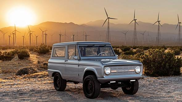 Start-up zeigt komplett elektrischen Ford Bronco mit 600 PS