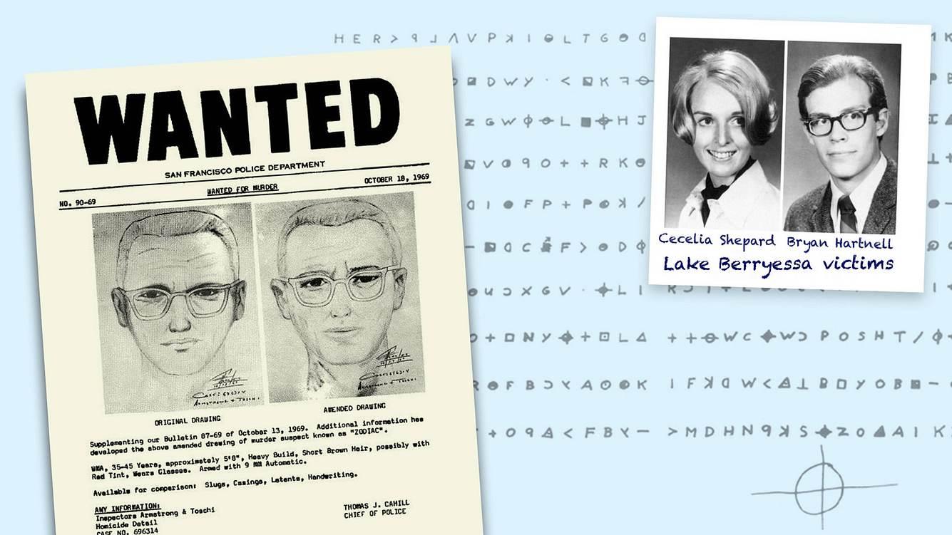 Der sogenannte Zodiac-Killer wurde nie gefasst
