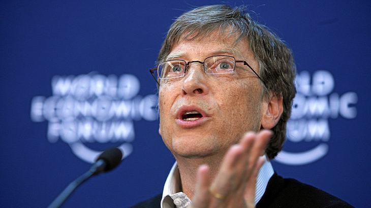 Zum vierten Mal in Folge: Bill Gates bleibt der reichste Mann der Welt