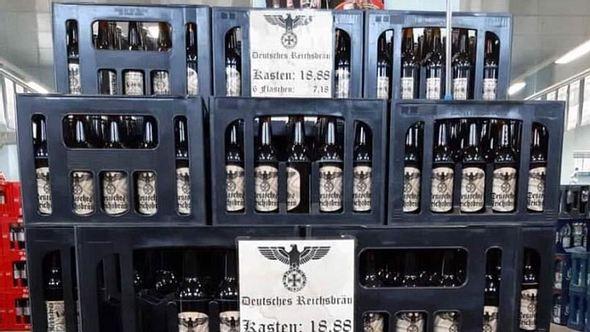 Deutsches Reichsbräu: Getränkemarkt in Sachsen-Anhalt verkauft Nazi-Bier