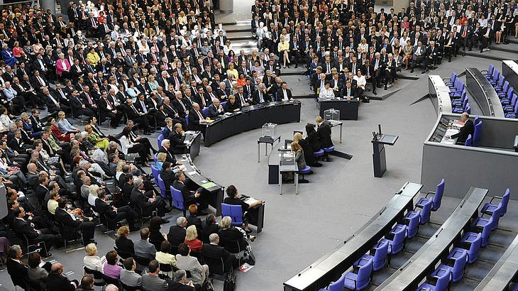 Bundestagsabgeordnete erwarten eine Diätenerhöhung (Symbolfoto).