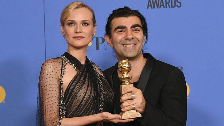 Diane Kruger und Fatih Akin bei den Golden Globes 2018
