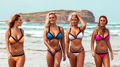 Die 4 Coffey-Schwestern - Foto: Instagram / hollydazecoffeyyy