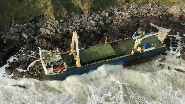 Die Alta an der Westküste Irlands - Foto: Irish Coast Guard