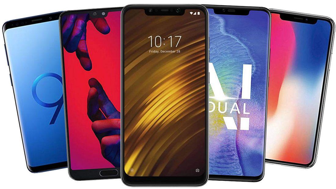Die besten Smartphones im Test