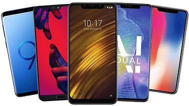Handy-Vergleich: Das sind die besten Smartphones