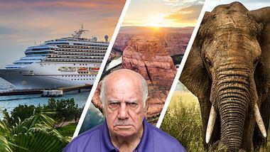 Mona Lisa zu klein!: Die dümmsten Touristen-Beschwerden aller Zeiten - Foto: iStock / Nan104 / lara_zanarini / FilippoBacci / drbimages (Collage Männersache)