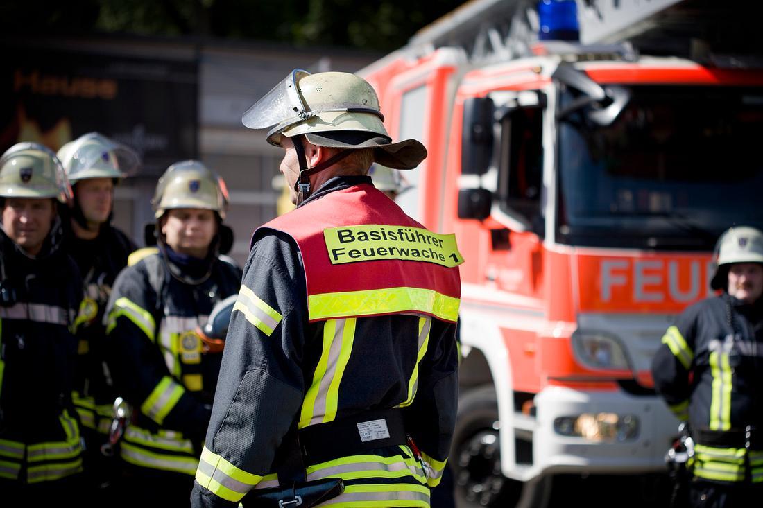 Die Feuerwehr musste anrücken