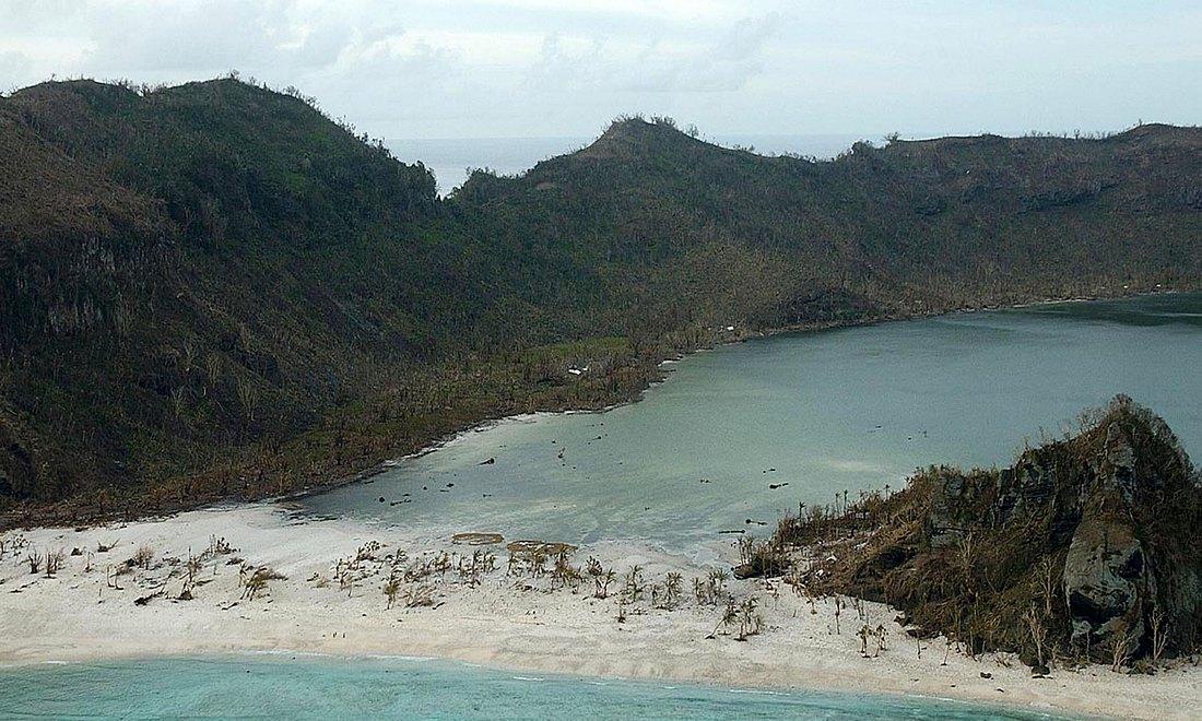 Die Insel Tikopia