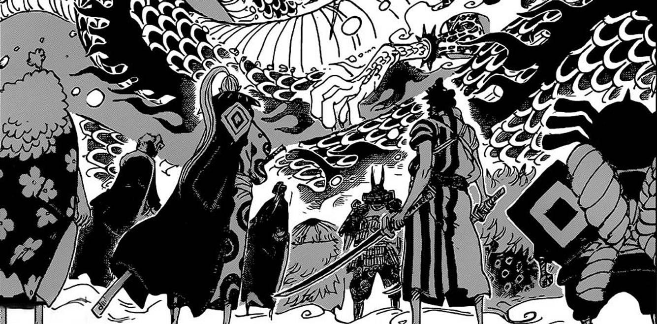 Die Roten Schwertscheiden gegen Kaido