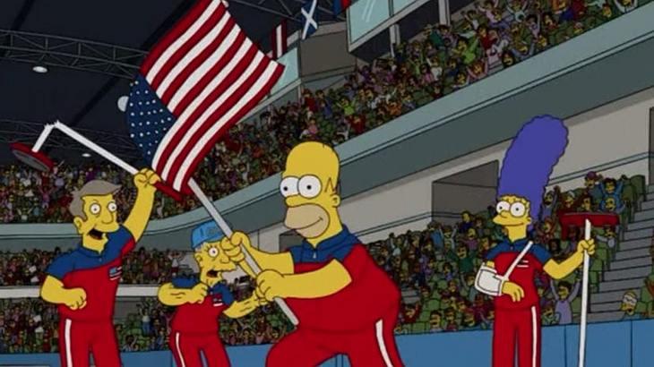 """Wahnsinn: """"Die Simpsons"""" sagen Olympia-Ergebnis richtig voraus"""