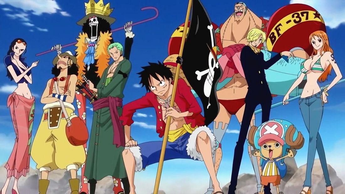 Die Strohhutbande aus One Piece
