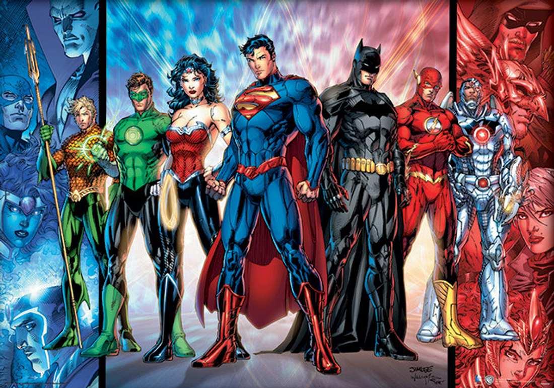 Die Superhelden von DC