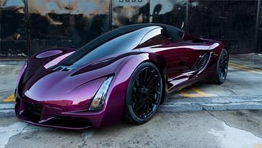 Blade: Der erste Sportwagen aus dem 3D-Drucker