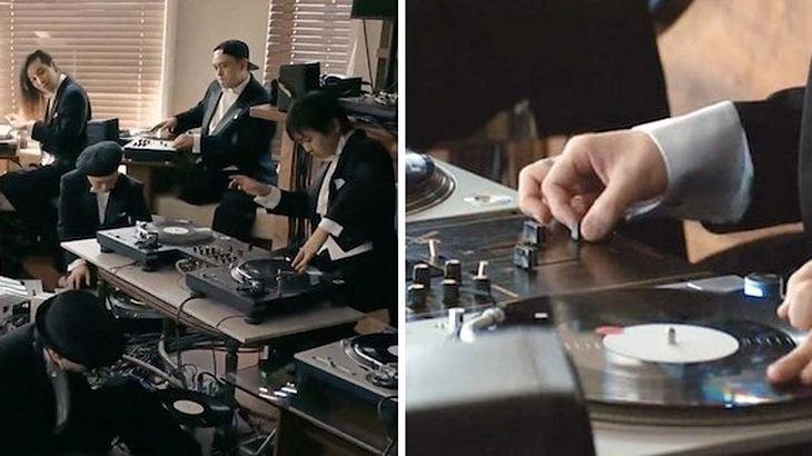30 der weltbesten DJ's spielen gemeinsam in einem Orchester