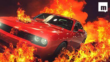 Höllensound: 900-PS-Dodge von Polizei gestoppt