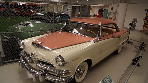 1955er Dodge La Femme in einem Automuseum - Foto: By Greg Gjerdingen from Willmar, USA - 1955 Dodge La Femme, CC BY 2.0, https://commons.wikimedia.org/w/index.php?curid=55263890