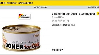 Doener for One: Doener in der Konservendose - Foto: not-vorrat.de