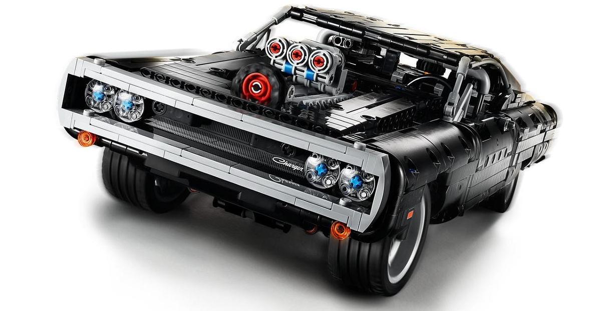 """Lego veröffentlicht Vin Diesels Auto aus """"Fast and Furious"""" als Bausatz"""