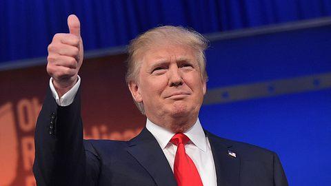 Trump zeigt Logo seiner Weltraumarmee – und alle denken dasselbe