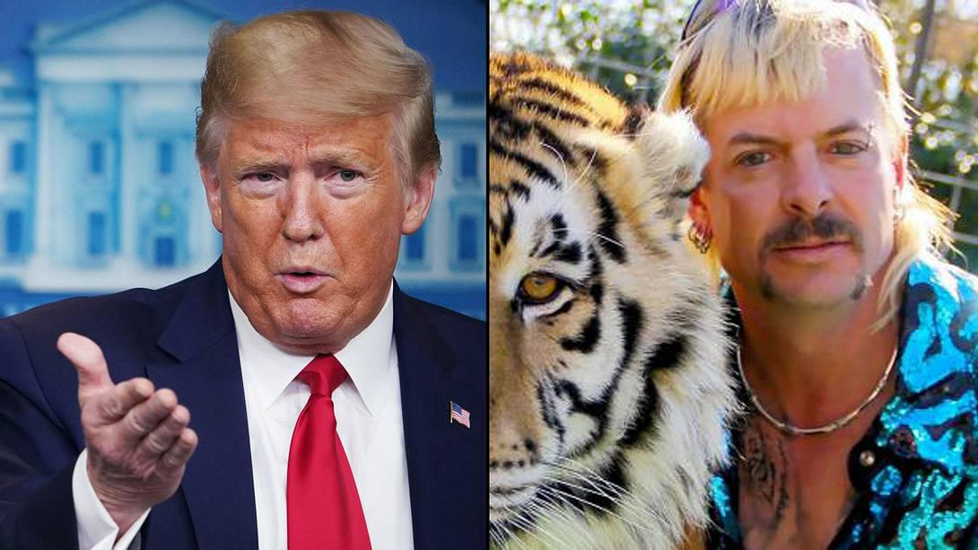 US-Präsident Donald Trump witzelt über Netflix-Star