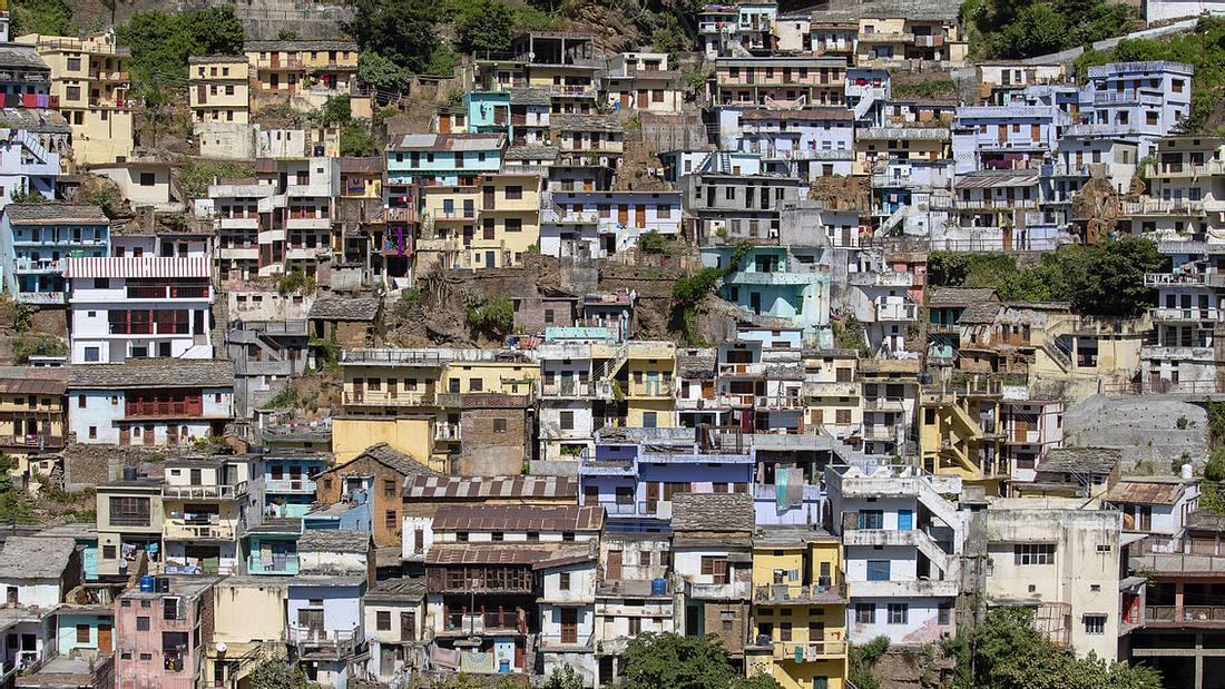 Indisches Dorf