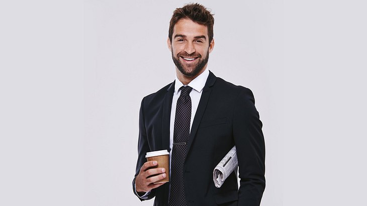 Drei-Tage-Bart und Bewerbungsfoto: Der Bart sollte gepflegt sein