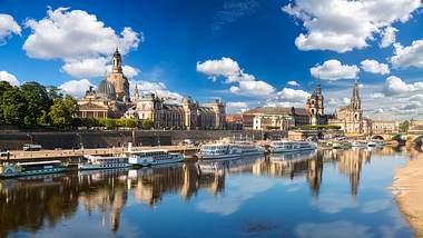 Dresden ist atemberaubend und entspannt zugleich - Foto: iStock / MikeMareen