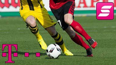 Die Dritte Bundesliga im Live-Stream - Foto: Getty Images / Thomas Kienzle / Telekom (Collage Männersache)
