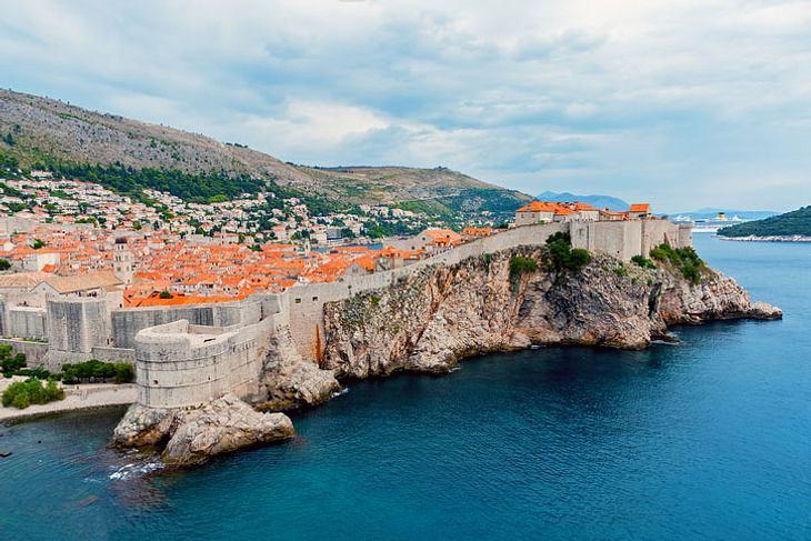 Stadtmauer von Dubrovnik.
