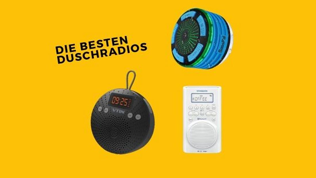 Duschradio - Radio - Tragbares Radio