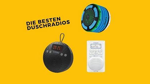 Duschradio - Radio - Tragbares Radio - Foto: PR